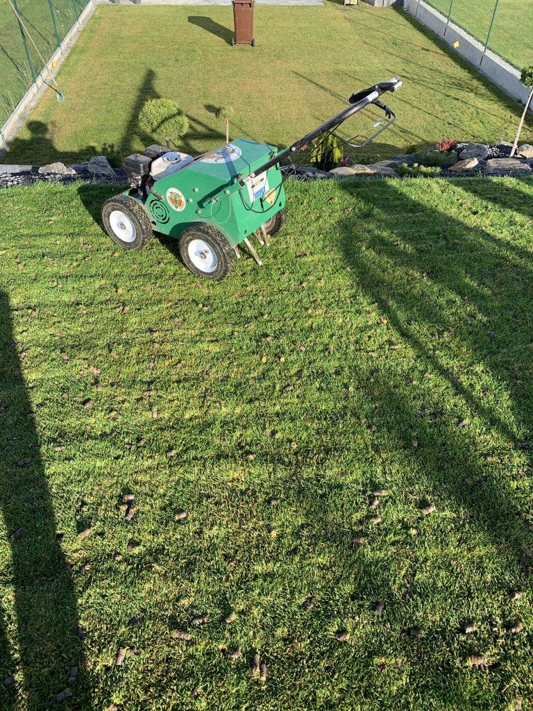 aeracja trawników